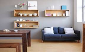 Small Picture Wall Mounted Box Shelves A Trendy Variation On Open Shelves