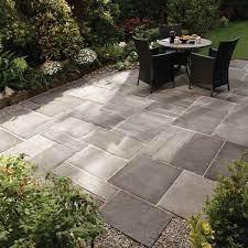 outdoor stone patio design backyard patio