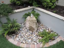 Small Picture Pebble Garden Ideas ProbrainsOrg