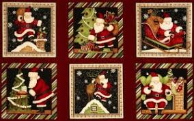 Christmas Quilt Fabric Panels | Quilters Showcase & A ... Adamdwight.com