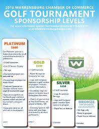 Chamber Of Commerce Golf Outing Sponsorship Levels Event