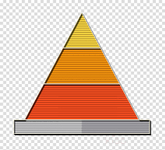 Graph Icon Pyramid Chart Icon Business And Office Icon