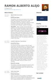 Einzelhandel Verkaufsfach Cv Beispiel Visualcv Lebenslauf Muster