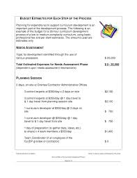 Course Proposal Template Curriculum Develop Cost Time Example