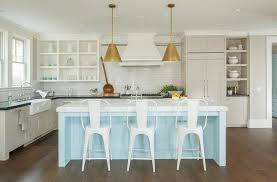 cottage kitchen lighting. appealing antique brass kitchen island lighting light blue cottage