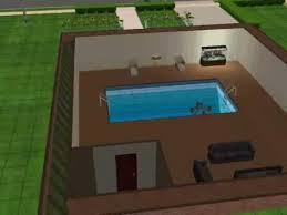 basement pool house. Sims 2 House I Built With A Basement Pool D