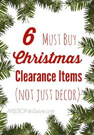 6 Must Buy Christmas Clearance Items (and I'm Not Just Talking ...