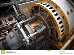 Electric power generator stock photo Image of supply 35968228