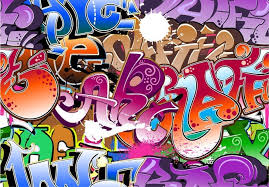Graffiti Font Free Beautiful Graffiti Font Design 05 Eps File Free Graphics