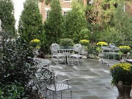 potted plants patio landscape