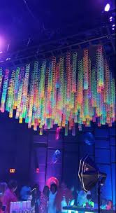 Blacklight String Lights Simple Black Lighting DPC Event Services