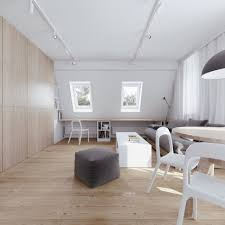 Apartment:Attic Apartment Decor With Modern Track Lighting And Wooden Floor  Ideas Interesting attic apartment