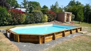 Piscine Bois Semi Enterr E 6x4 Piscine Semi Enterr E