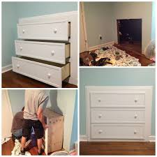 DIY Dresser as Footboard