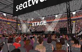 block a view from seat gig events manchester arena seating plan
