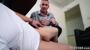 Gay boss sucks tube