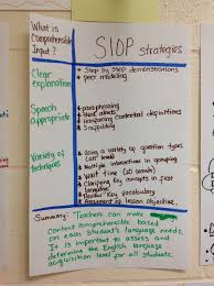 Elps Flip Chart A Handy Book For Academic Language Instruction Siop Comprehensible Input Co Teaching