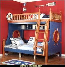 pirate ship bunk bed pirate ship bunk beds decorating theme bedrooms manor theme beds novelty pirate ship