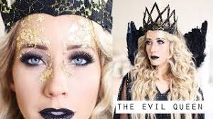 evil queen makeup hair tutorial q