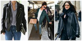oversized leather jackets looks
