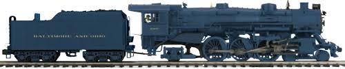mth electric trains train wizard productions baltimore ohio p7 5307 mth premier line 20 3738 1