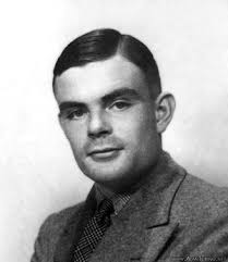 black and white pic of alan turing. Not just a WWII hero, Turing was a computer chess pioneer too. Between these two landmark pre- and post-war dates, ... - alan_turing2