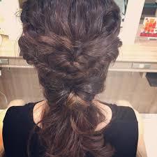ロングのヘアアレンジまとめ簡単ストレートアップまとめ髪仕事 Cuty