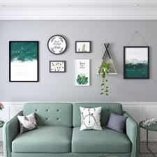 the modern living room decoration