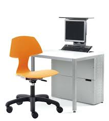 office chair with attached desk full size of and delta children sesame street storage bin
