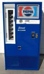 Antique Pepsi Vending Machine Delectable Pepsi VINTAGES
