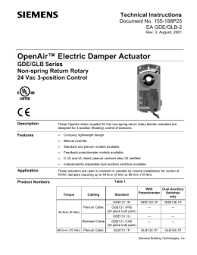 valve and valve actuator selection guide