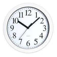 wall clock for office. simple clock realspace round quartz analong wall clock 9 white by office depot u0026  officemax throughout for