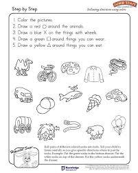 19 best Following Directions Kindergarten Worksheets images on ...