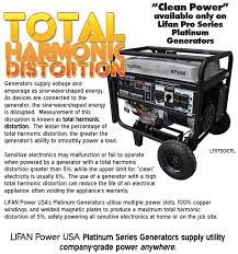 platinum series lifan power usa total harmonic distortion