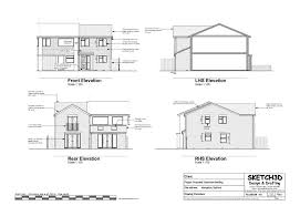 new build house plans elevations return top house plans 77299 farnsworth house plan section elevation