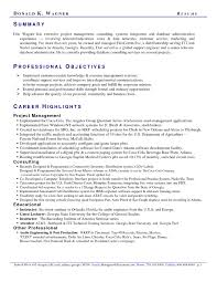 Professional Resume Summary Professional Summary On Resume Resume Summary 24 How To Write An 18