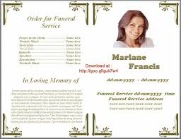 Funeral Program Word Template Custom Pin By Sam Bither On Funeral Program Templates For MS Word To