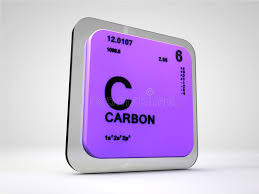 Carbon - C - Chemical Element Periodic Table Stock Illustration ...