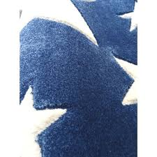 kids rug happy rugs stars navy blue white 120x180cm