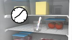 food safety and hygiene training level course ihasco screenshot large image of fridge food stored to avoid cross contamination for food safety