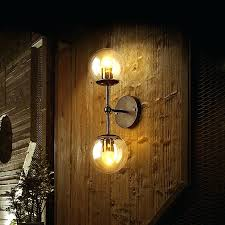sconce glass candle shades retro wall industrial