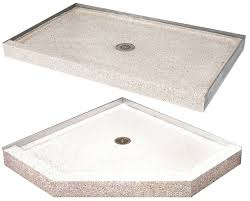 another discovery terrazzo ware shower bases are available through grainger and d from 360 582 these shower bases come in a few shapes and sizes