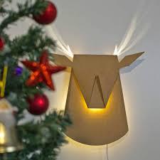 Deer Head Led Light Pop Up Lighting Deer Head Pogot Bietthunghiduong Co