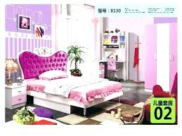Full Size Princess Canopy Bed Carriage Purple Bedroom Set New Royal ...