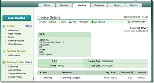 Create Invoice Online Awesome IStuff Interesting Stuff That Matters ZOHO Introduced Zoho