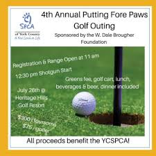 4th Annual Putting Fore Paws Golf Outing York County Spca