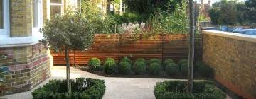 london terraced house front garden