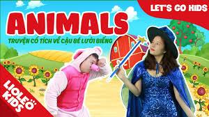 Bé học tiếng Anh về con vật l [Trọn bộ 20 chủ đề từ vựng sách Let's go]  [Lioleo Kids] - YouTube