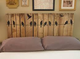 Headboards Diy 11 Easy And Budget Friendly Diy Pallet Headboards Shelterness