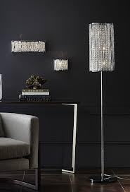crystal chandelier floor lamp. Faux Crystal Chandelier Table Lamps For Current Modern Floor Lamp Black, L